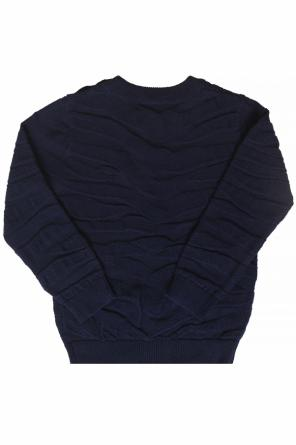 Sweater with rubber patch od Kenzo Kids